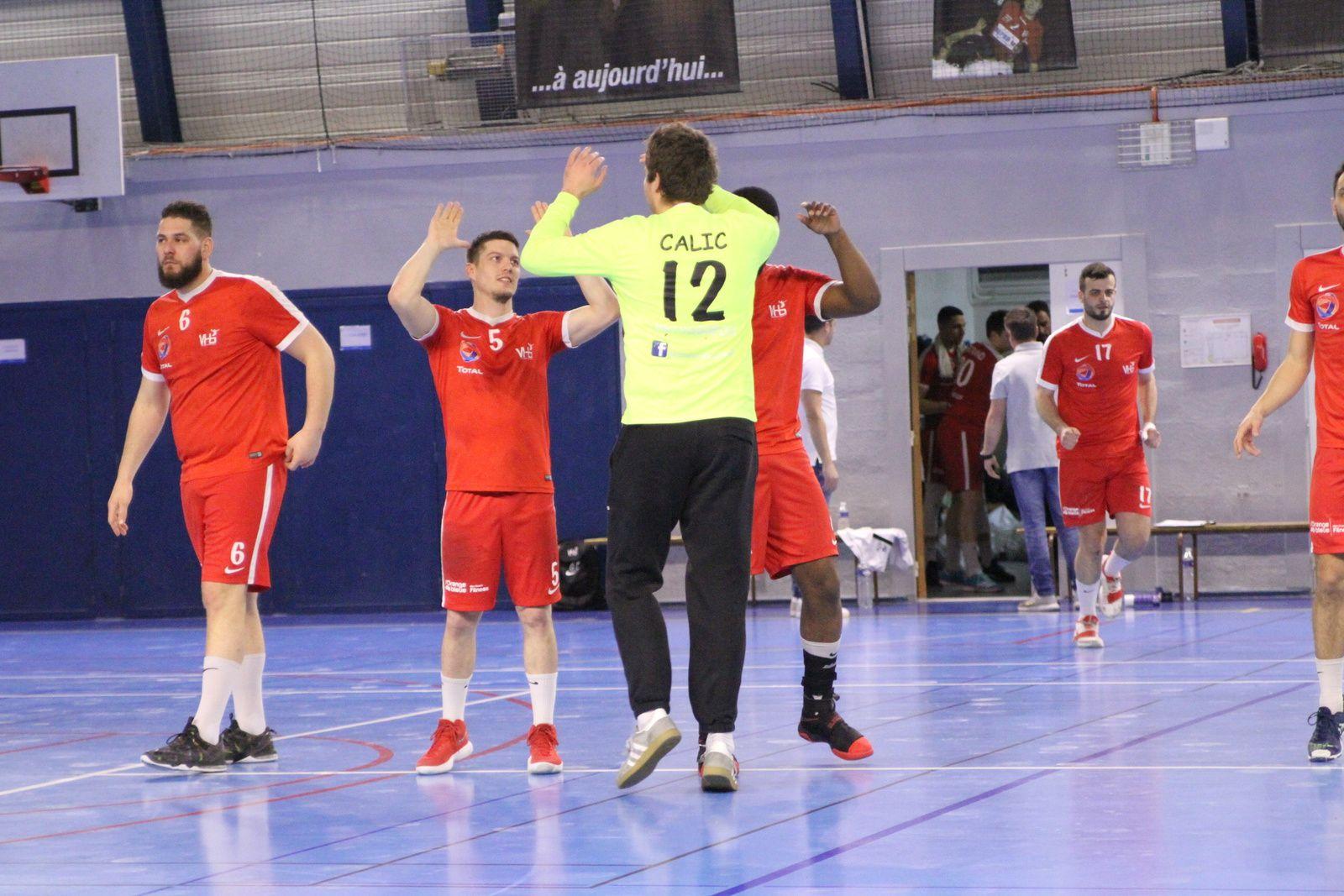 Vénissieux Handball laisse  encore des points à domicile