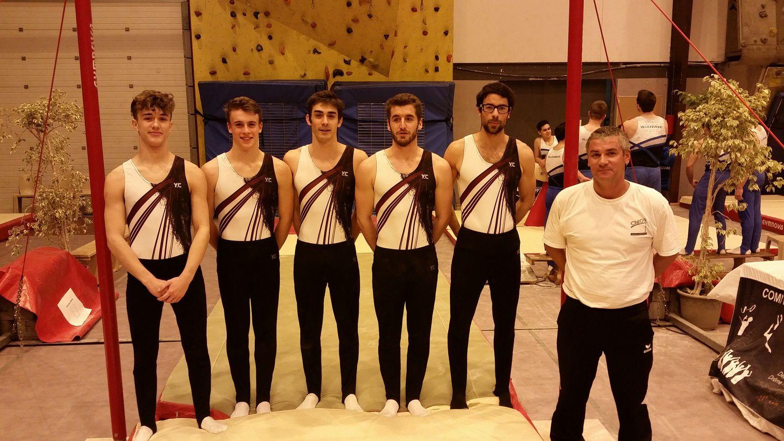 L'équipe 9/10 ans vainqueur de sa catégorie - Photos : © CMOV Gymnastique