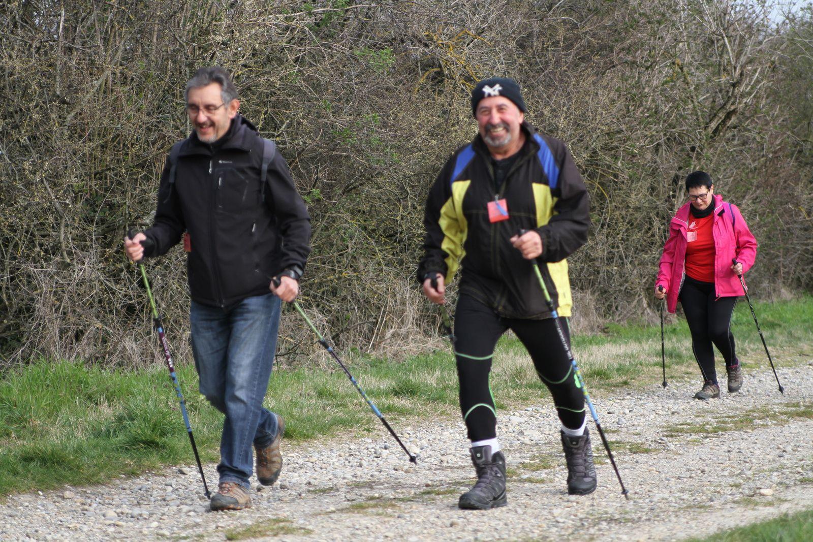 """""""Marche Nordique"""" est une épreuve qui permet d'allier performances mais aussi de pratiquer cette discipline sportive en loisir."""