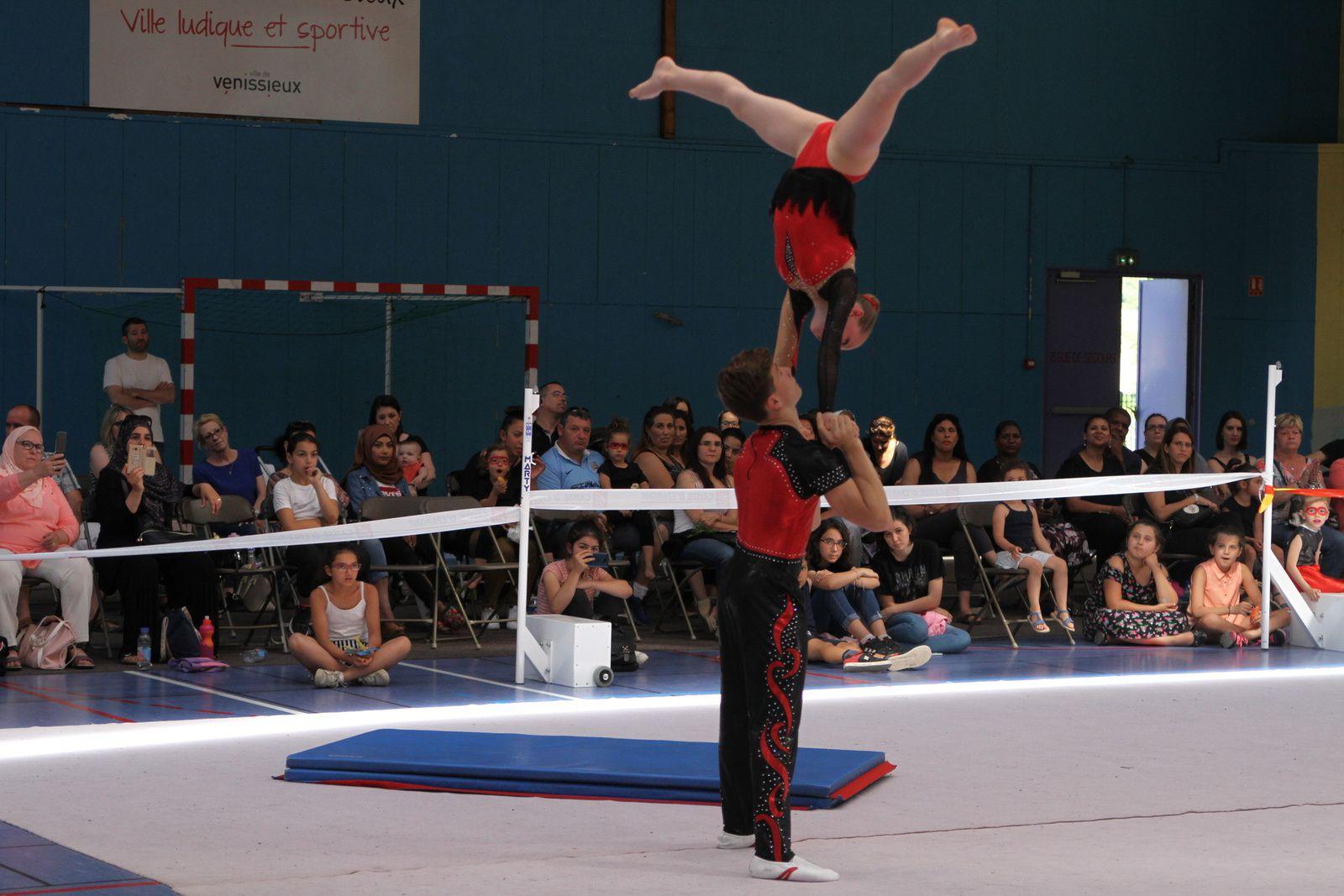 La gymnastique  rythmique a clôturé sa saiso ce samedi au gymnase Alain Colas