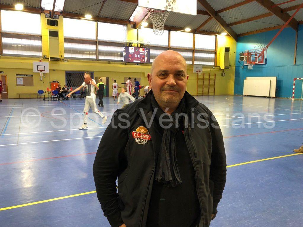 François Martin président du CLAMV Basket
