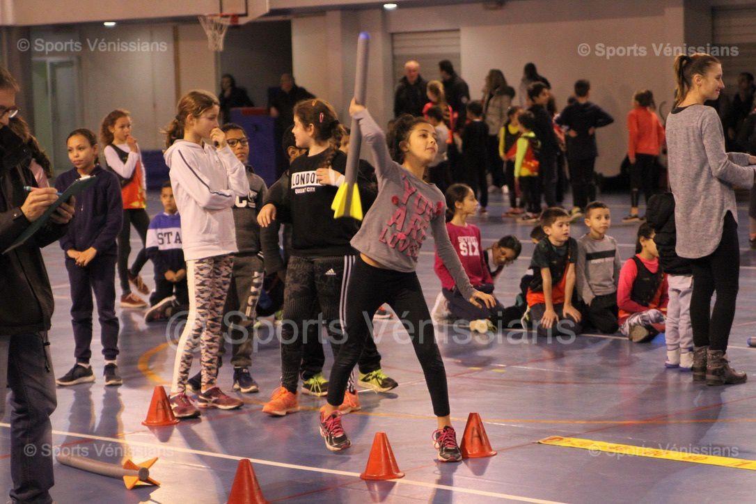 83 enfants de 6 à 11 ans ont participé au Kid de Noël de l'AFA Feyzin-Vénissieux