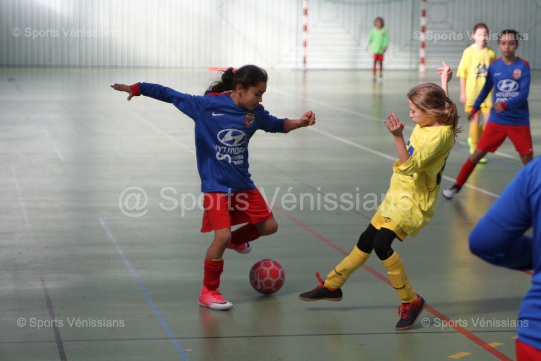 La pratique du football féminin au Vénissieux FC poursuit son essor