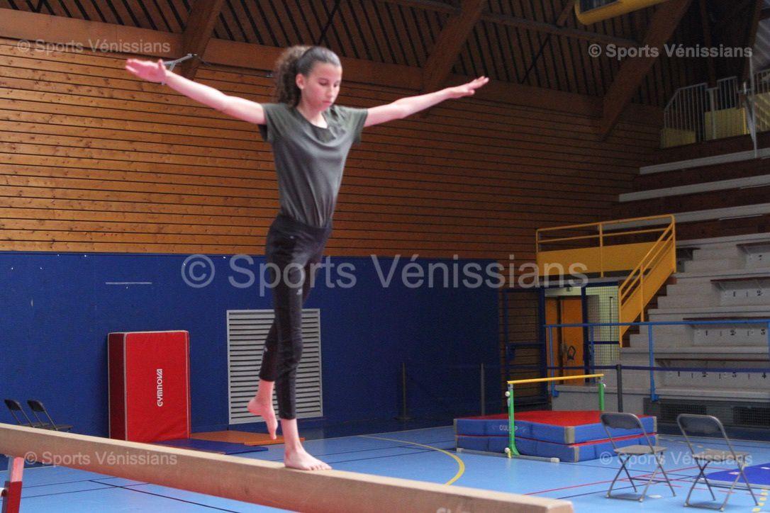 De 4 à 12 ans, les enfants de l'école de gymnastique du CMOV Gym se sont frottés aux agrès imposés suivant leur catégorie d'âges