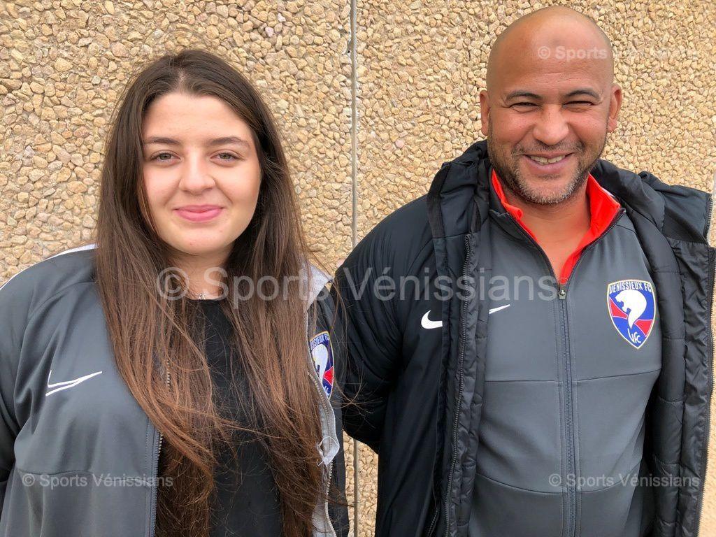 Yousef Sekour et son adjointe Irem Kaya