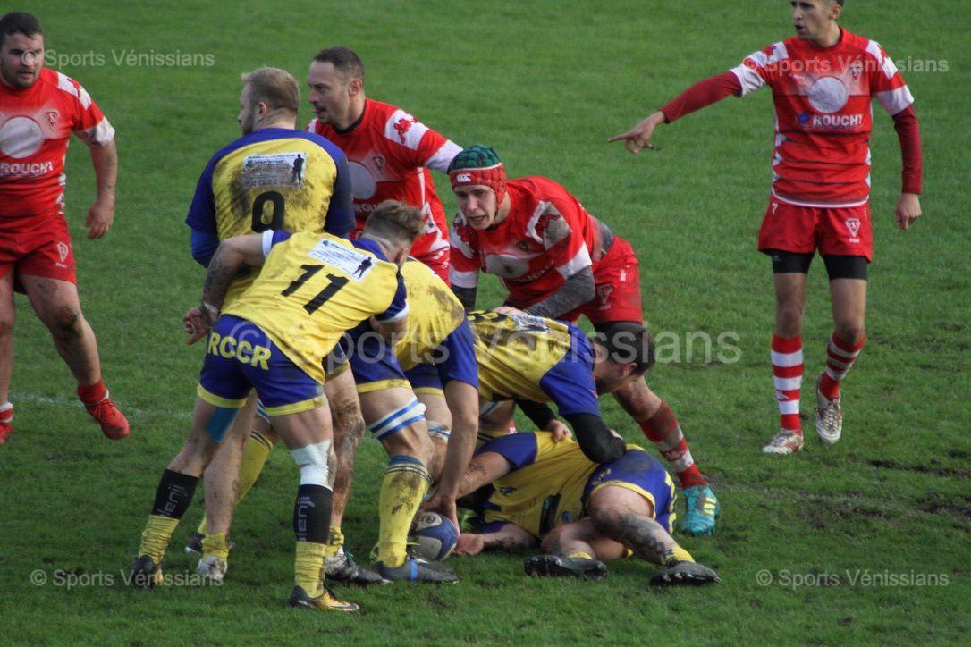 L'USV Rugby ne tient pas la distance