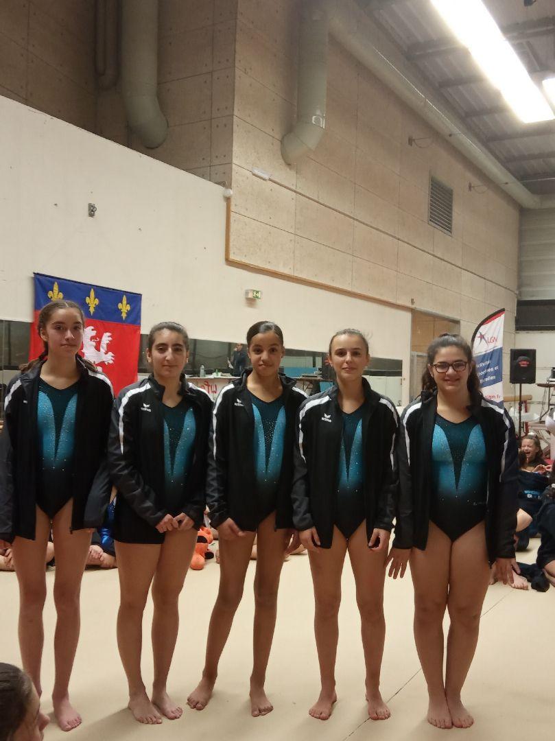 Les filles du CMOV Gym ont étaient efficientes ce week-end - Photos : © CMOV Gym