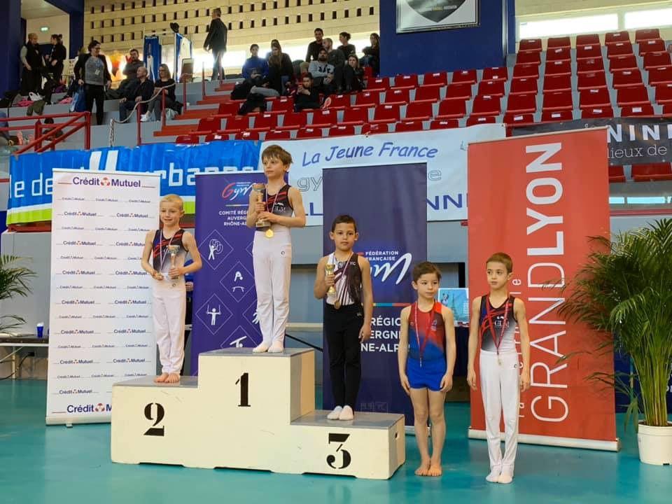 Les jeunes gymnastes du CMOV Gym ont été performants aux championnats interdépartementaux - Photos : © Avec l'aimable autorisation du CMOV Gymnastique danse et trampoline