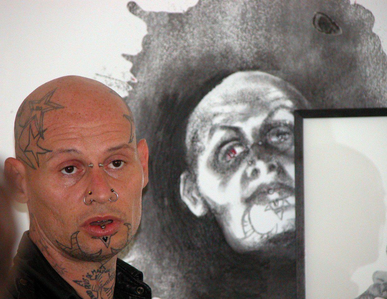 Jean-Luc Verna et son auto-portrait ?