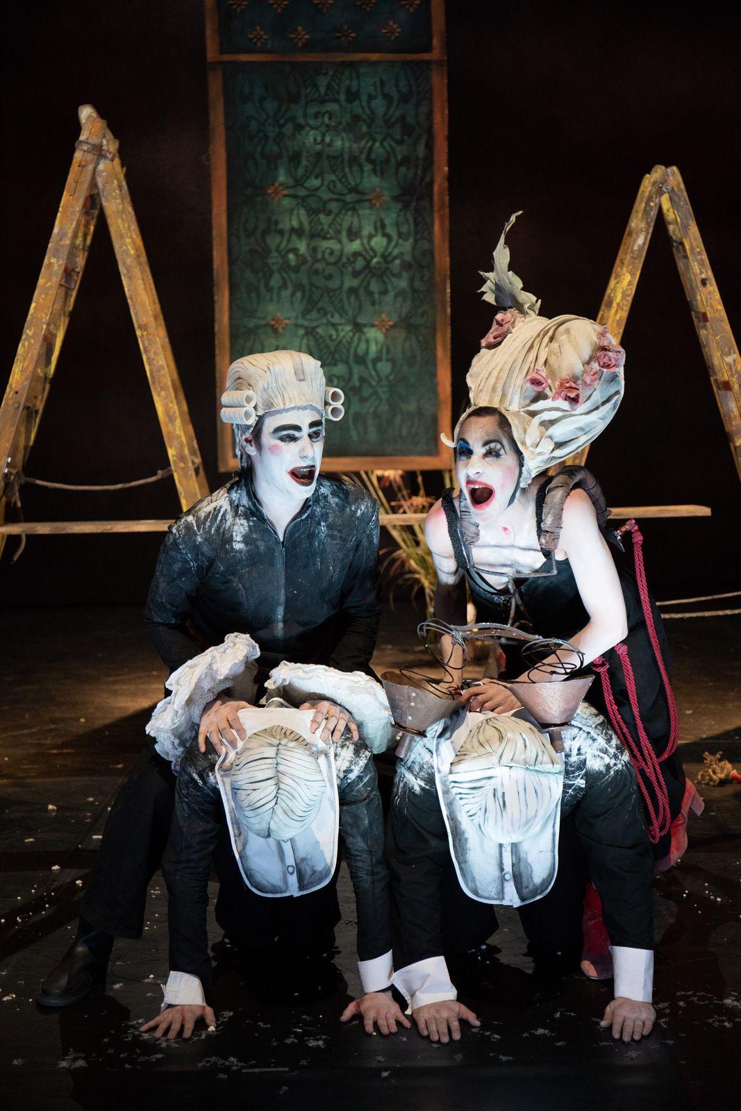 L'homme qui rit d'après Victor Hugo sera proposé par la Compagnie La Licorne le 16 octobre - Photo : @Théâtre de Vénissieux