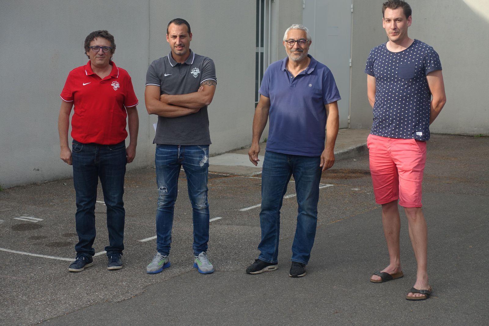 Le collectif 2020/2021 de Vénissieux Handball