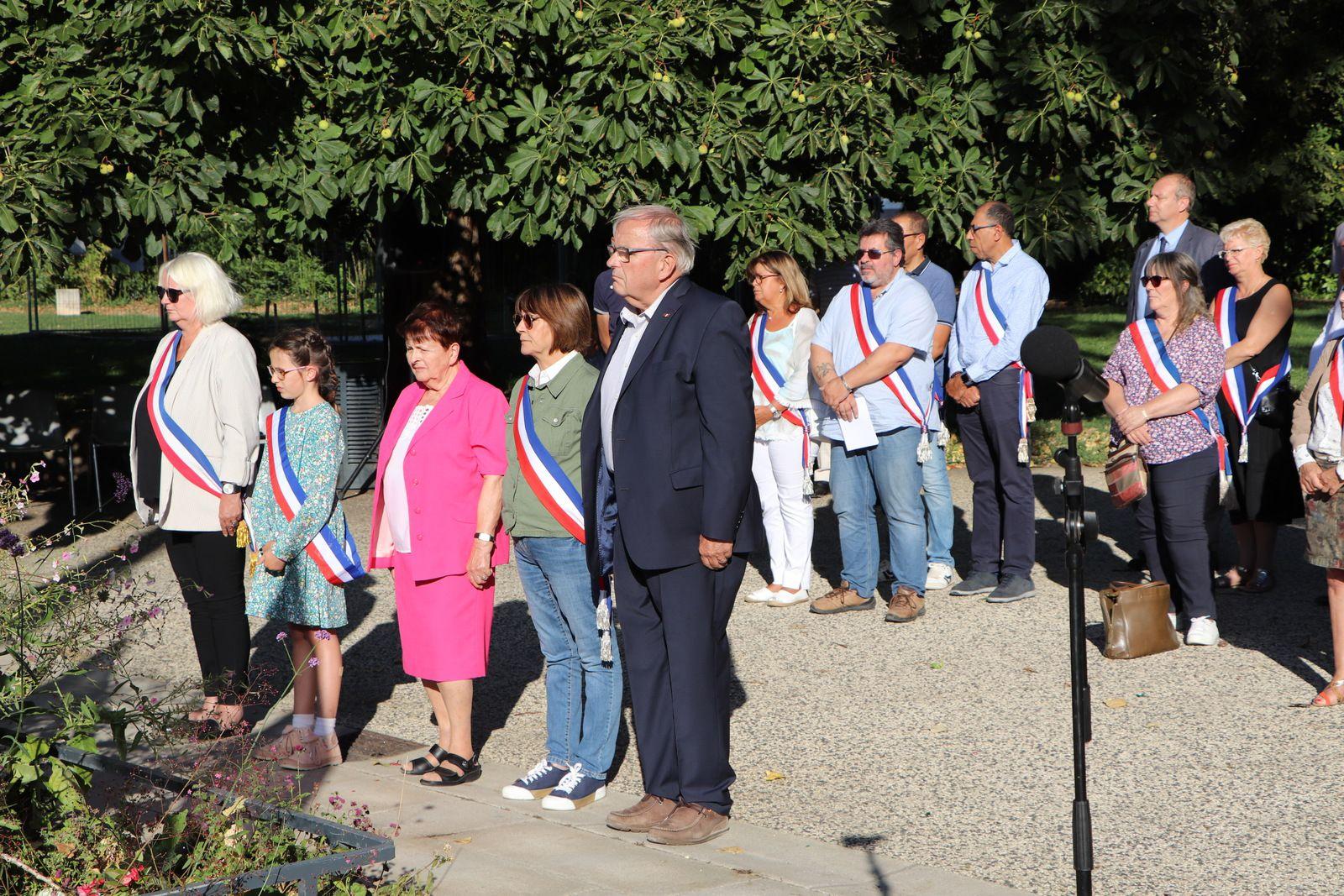 Vénissieux se souvient ce 2 septembre du lourd tribut payée par la commune au nazisme