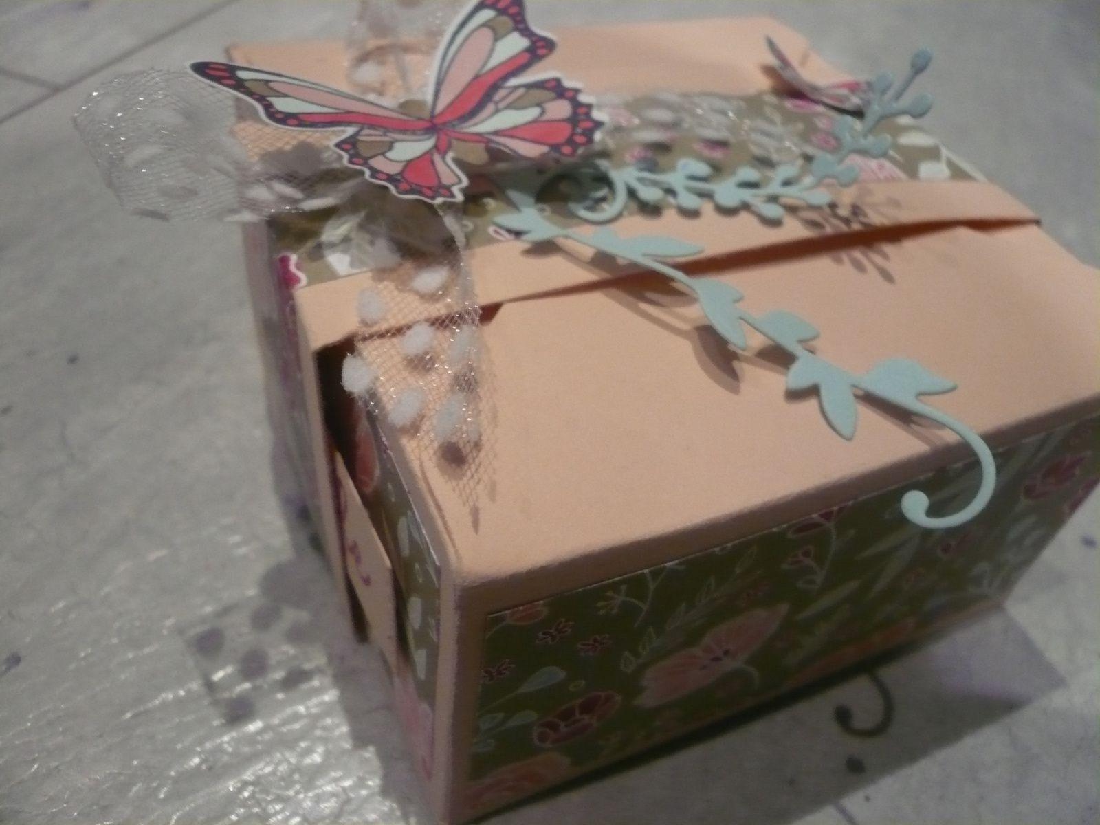 Boîte carré standard -  Insta enveloppe