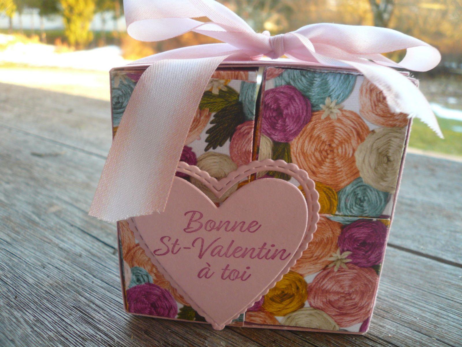 4 boîtes pour ma Saint-Valentin