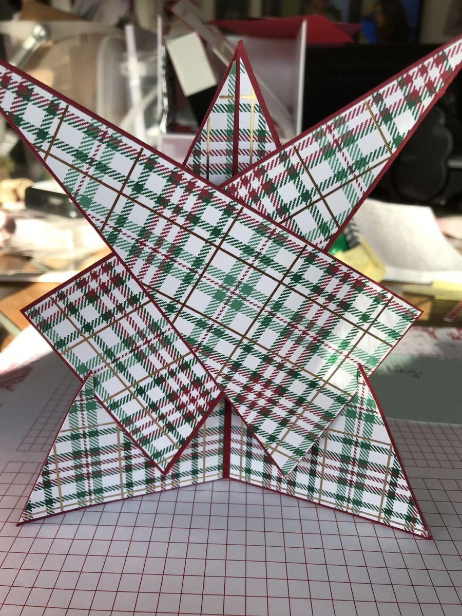 Déco de Noël étoile ou marque place