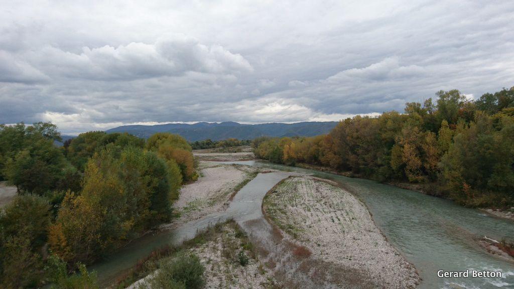 La Drôme entre Livron et Loriol