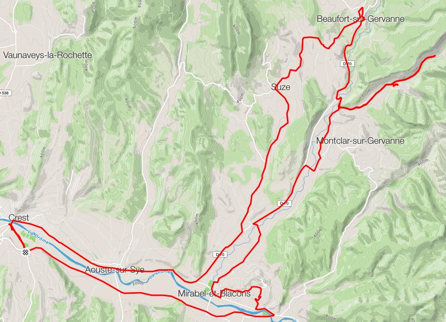 Vallée de la Gervanne, Vaugelas