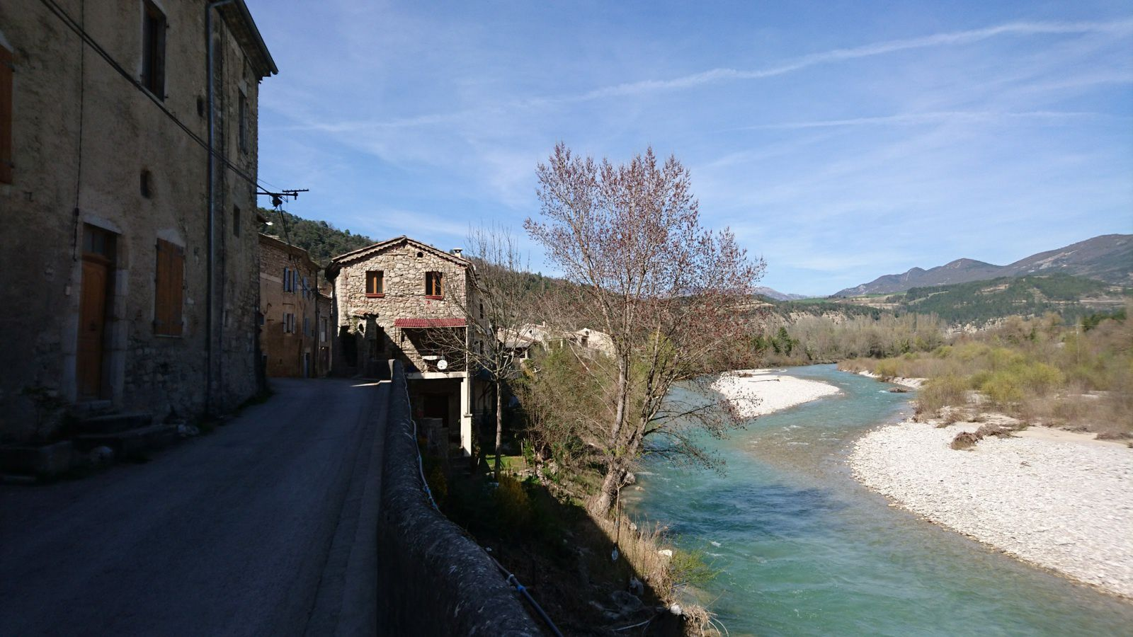 La Drôme à Pontaix (amont)