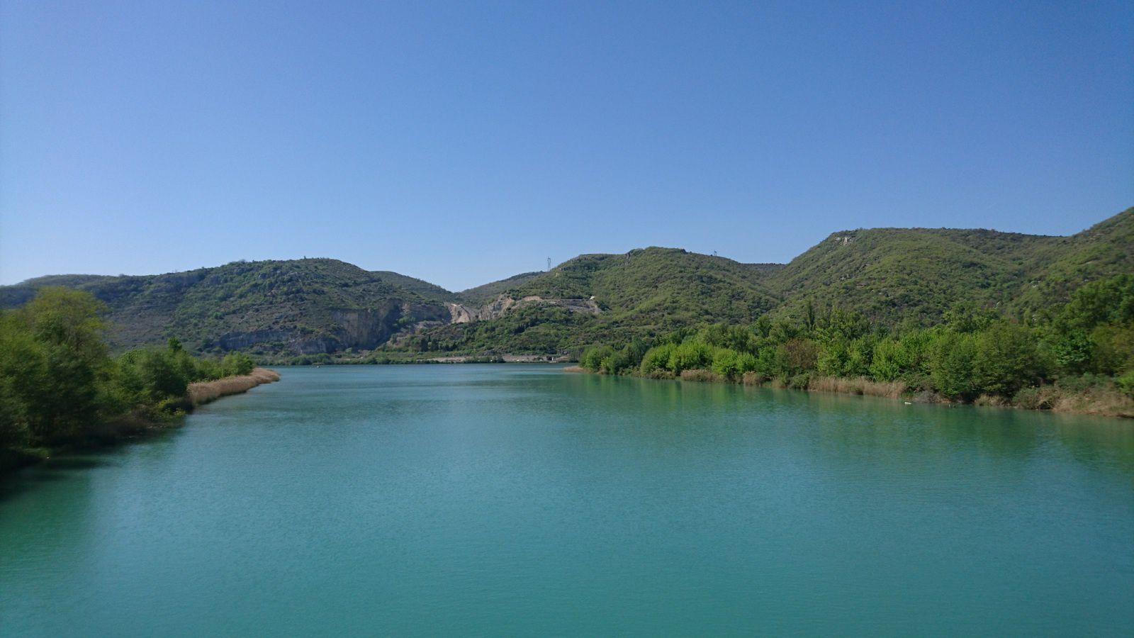 La confluence Drôme-Rhône