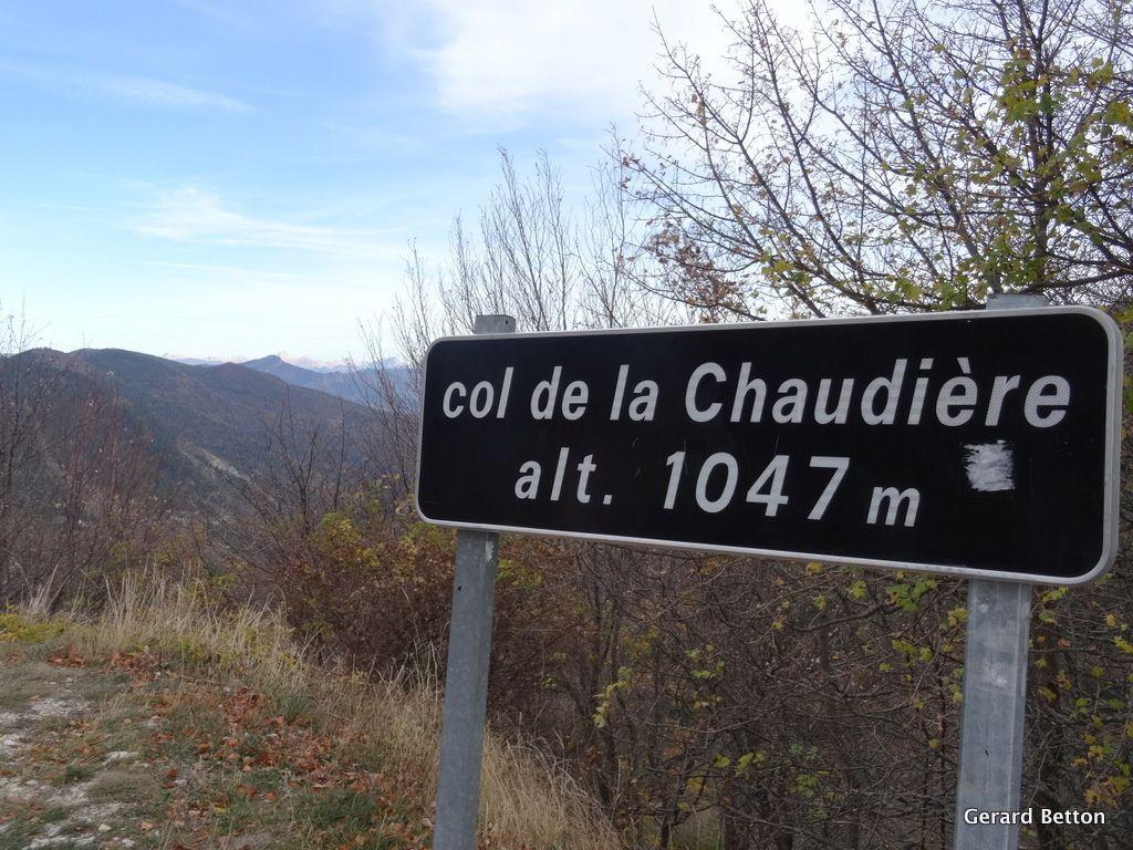 Col de la Chaudière, par Saillans