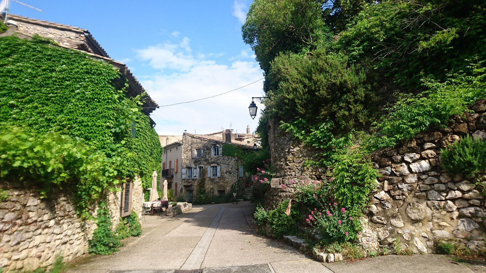 Cliousclat, village de potiers.