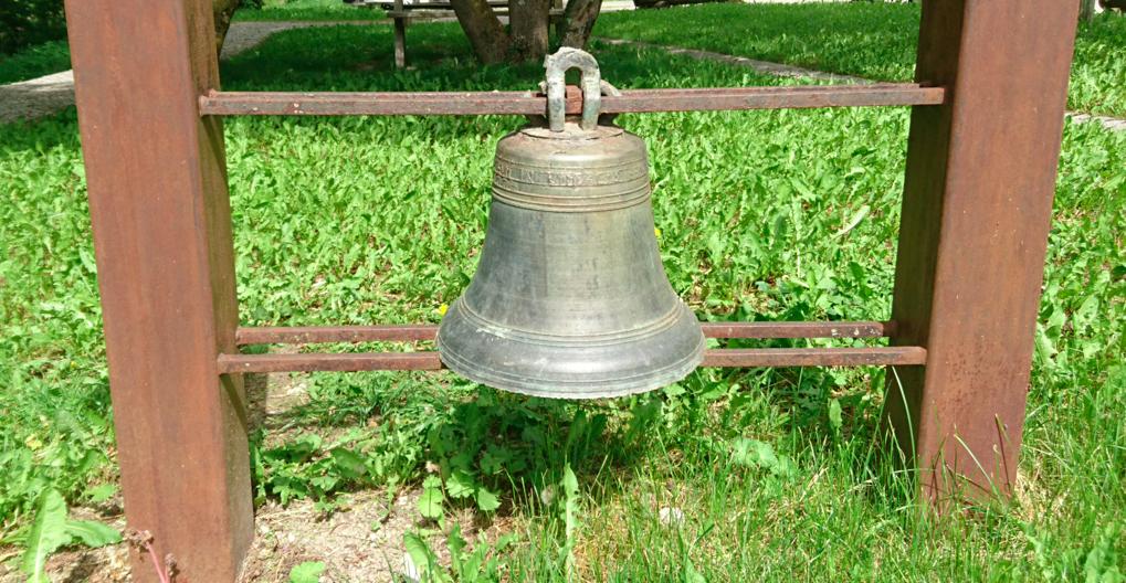 La cloche de l'église qui a disparue.