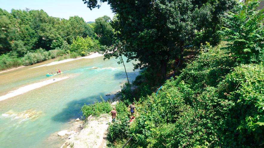 La Crad'eau : la Drôme envahie.