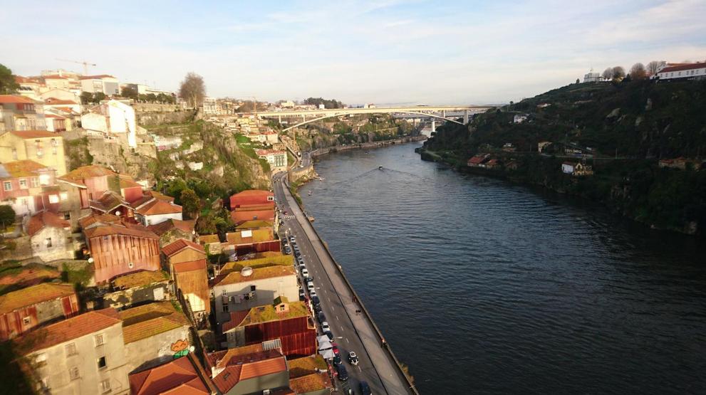 Porto, Portugal: première approche à vélo
