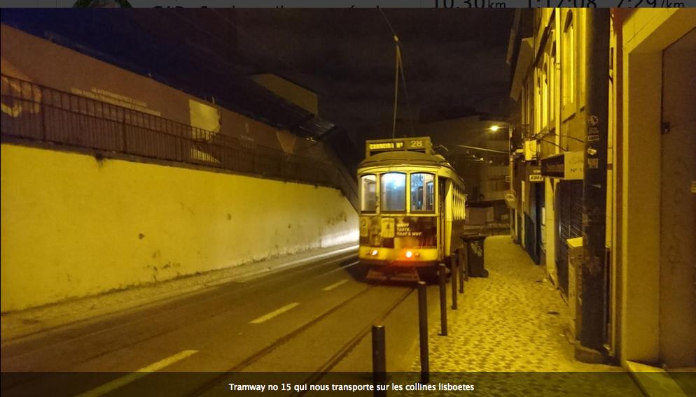 CAP : Sur les rails et pavés de Lisbonne