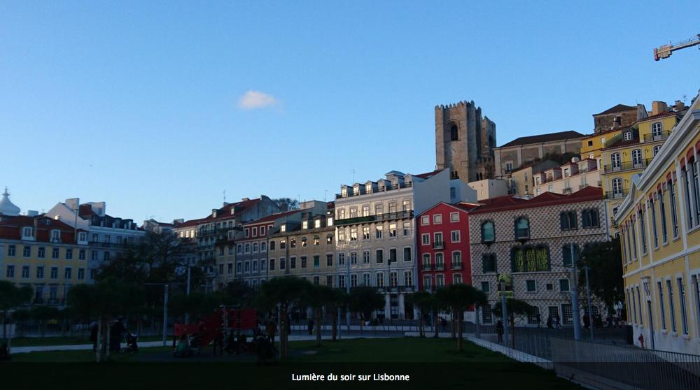 Le long du Tage, à Lisbonne