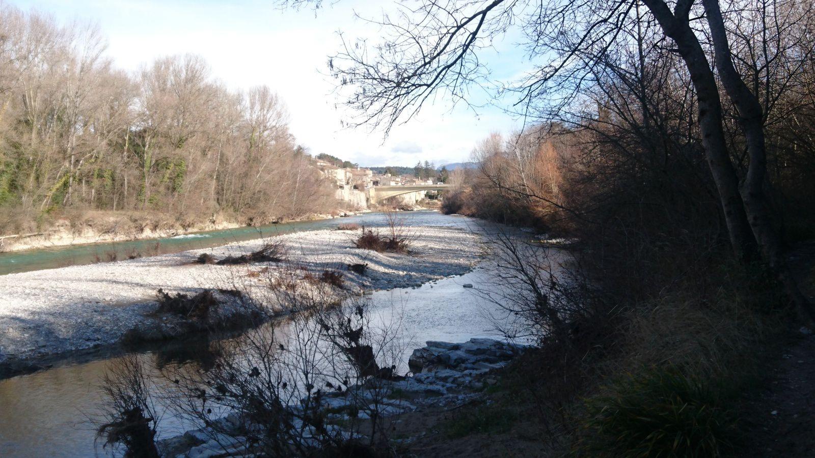 Sentier du bord de Drôme