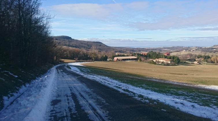 Col de Lunel, col du Devès, col des Deux-Serres