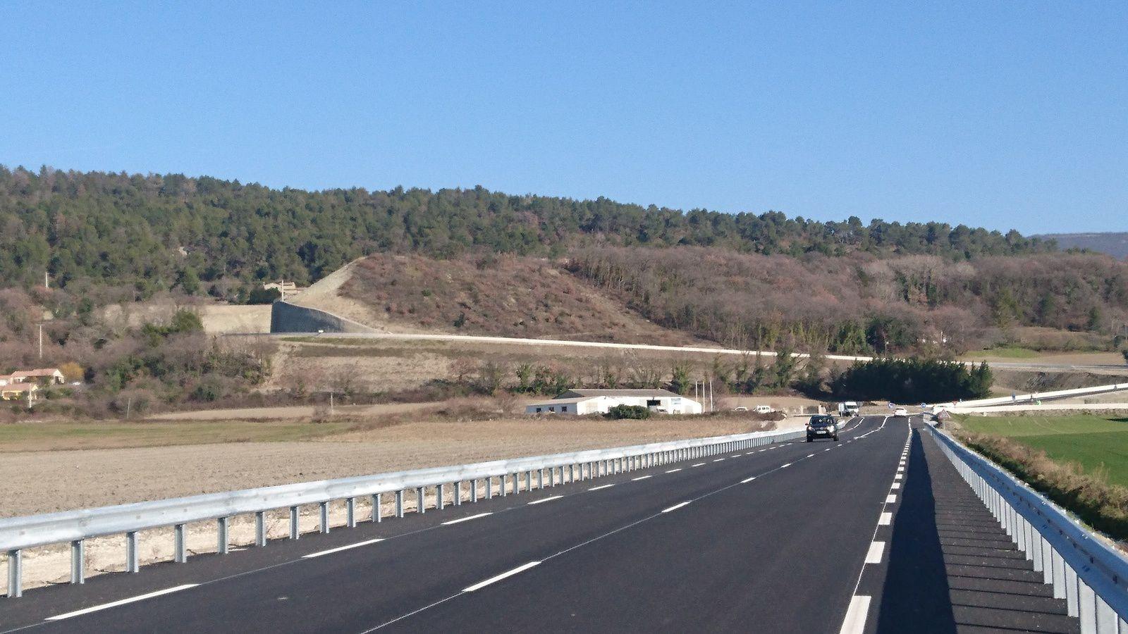 Nouvelle déviation de Puy Saint Martin