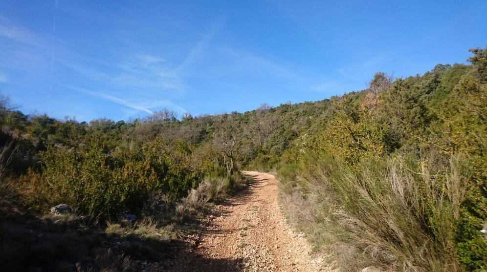 Séjour à Regusse J6 : Chemin de Régusse à Bauduen