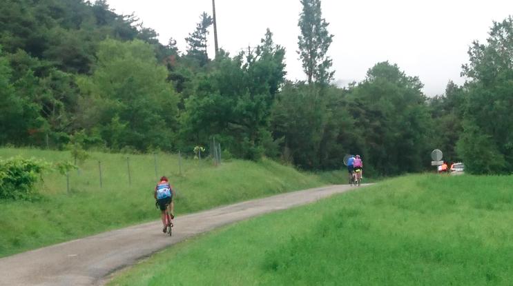 """Un bout de route avec la  """"Cyclomontagnarde du Vercors"""""""