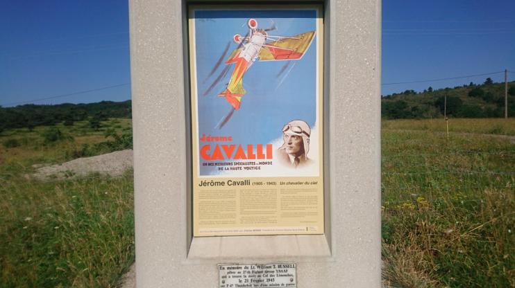 Col Jérôme Cavalli, par Gigors