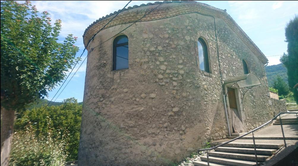 Espenel, le village