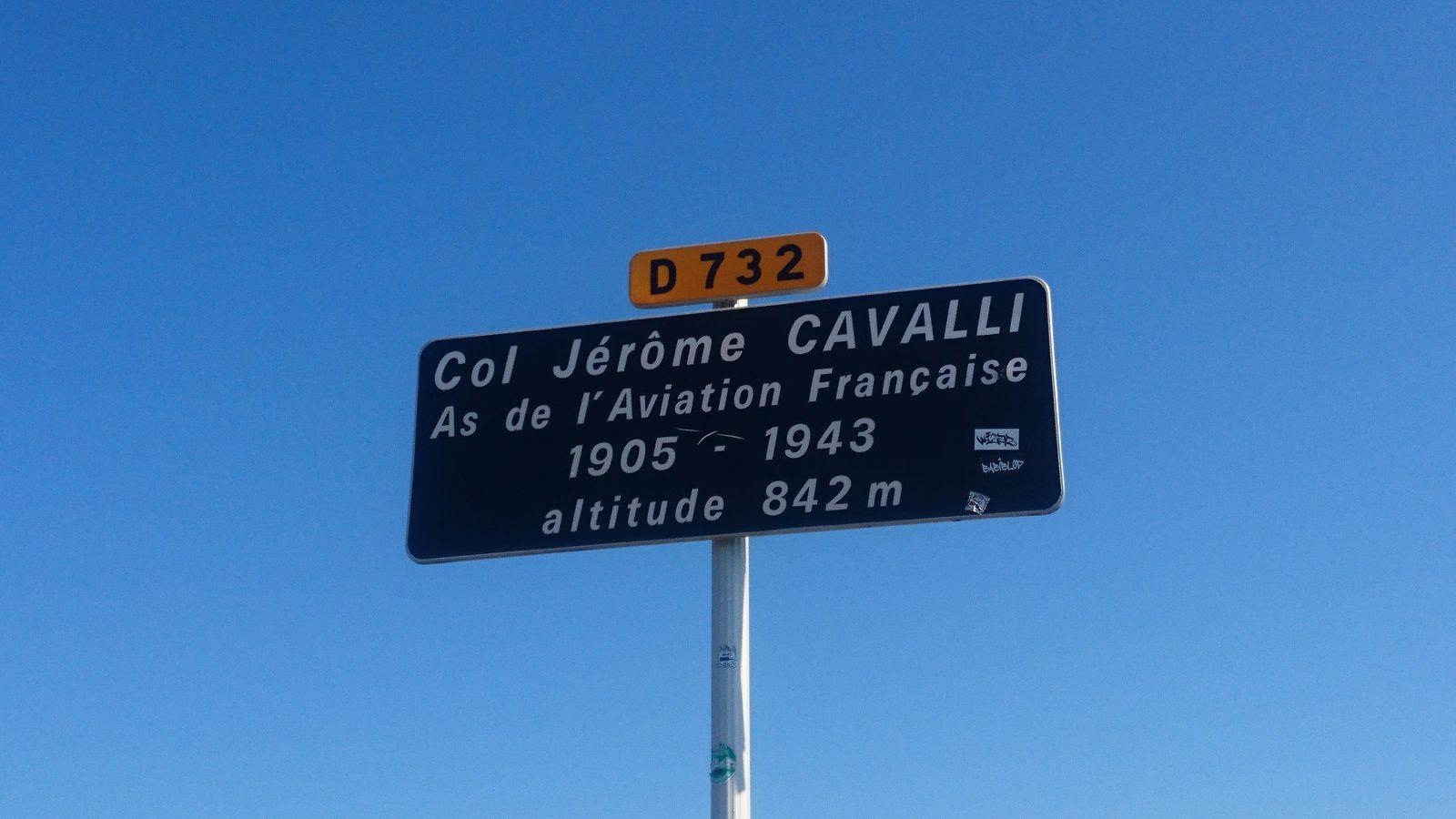 Col Jérome Cavalli, par Beaufort sur Gervanne