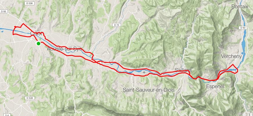 """Val de Drôme, Vercheny ,en mode """"hivernal"""""""