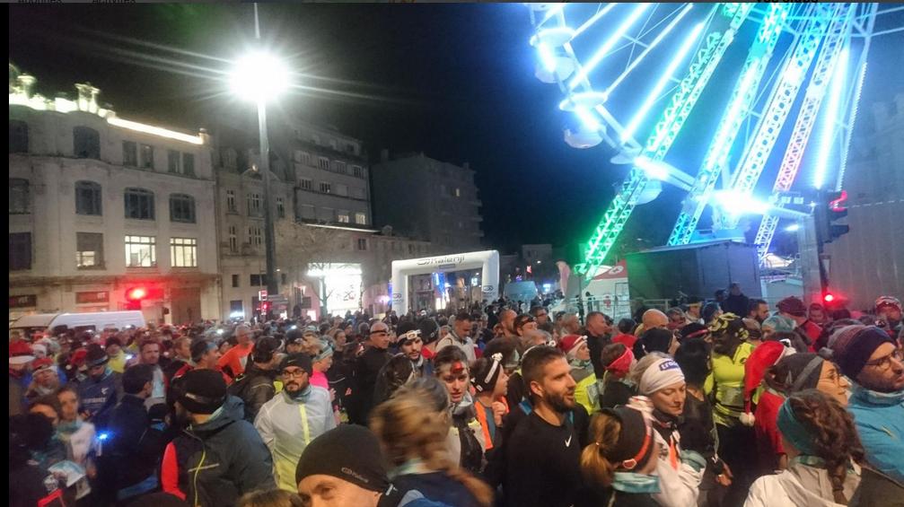 Trail nocturne de Noël à Valence