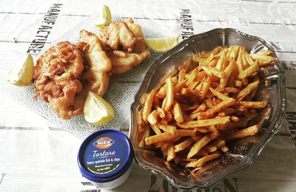 Cabillaud façon fish & chips - Bataille Food#77