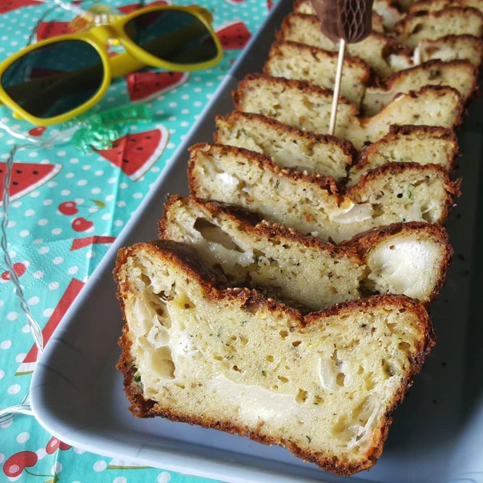 Cake au chèvre et à la courgette - Foodista Challenge #64