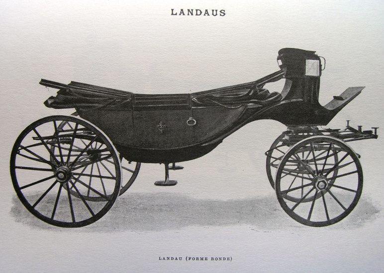 Les voitures des écuries impériales sous Napoléon III