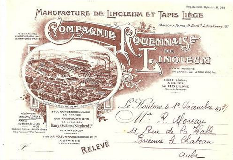 Linoleum: histoire et production par D. Gaiser