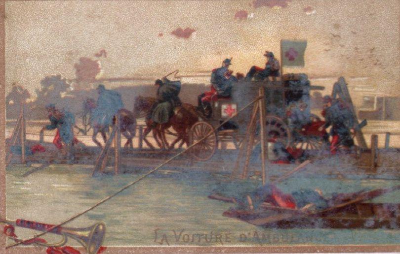 Ambulances des armées belges, françaises, britanniques... (Collection Figoli et de courtoisie).
