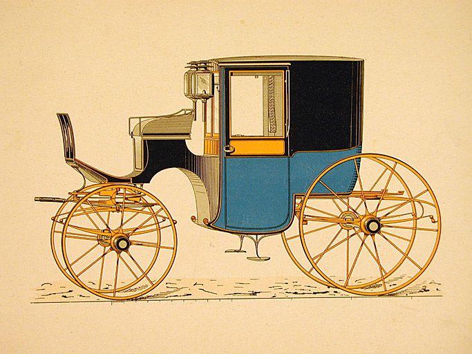 Petit coupé carré, Le Guide du Carrossier, 1911, n° 322