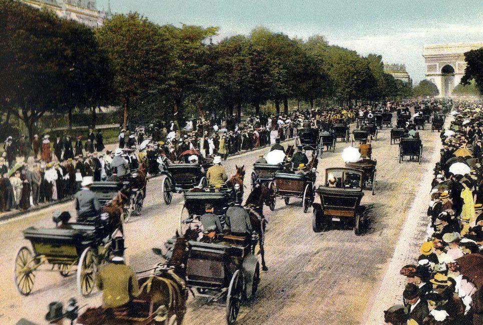 Quand Paris comptaient 80 000 chevaux chaque matin !