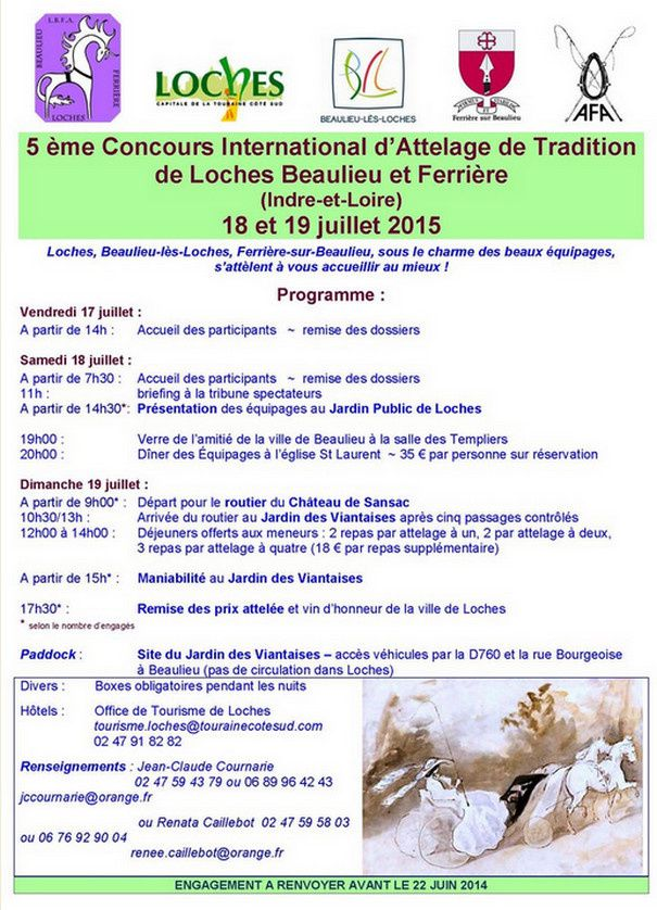 CIAT et Trophée AFA à Loches Beaulieu et Ferrière