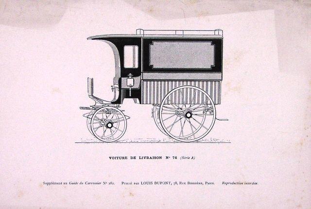 Voitures et camions de livraison; rois du pavé parisien.1