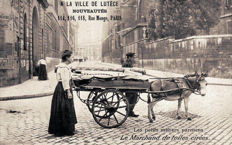 Voitures et camions de livraison;  rois du pavé parisien/ 2